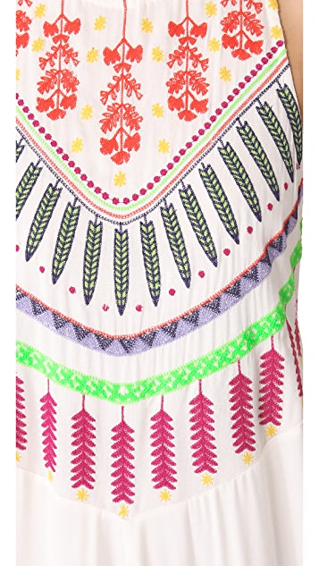 Mara Hoffman Medicine Wheel Cover Up Dress