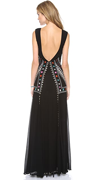 Mara Hoffman Embroidered Gown