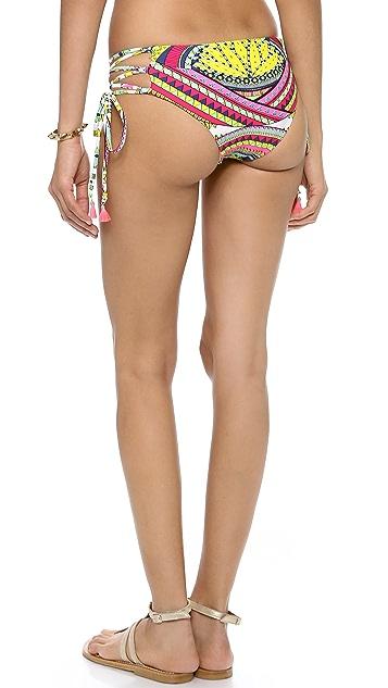 Mara Hoffman Lace Up Bikini Bottoms