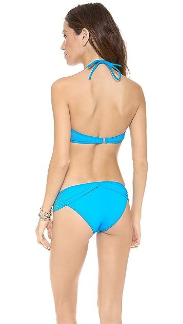 Mara Hoffman V Wire Bandeau Bikini Top