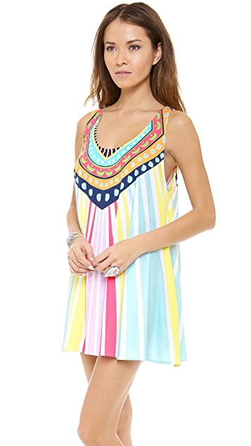 Mara Hoffman Rays Swing Mini Dress
