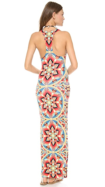 Mara Hoffman Kites Racer Back Maxi Dress