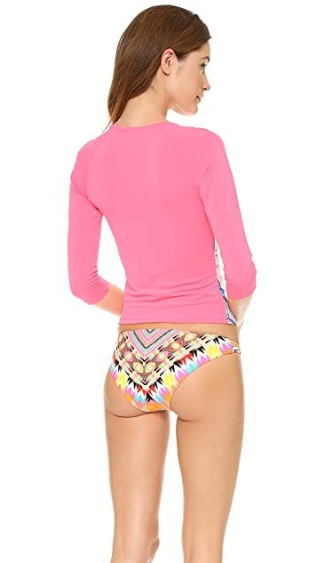 Mara Hoffman Jungle Trip Rash Guard