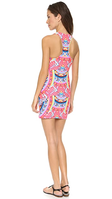 Mara Hoffman Jungle Trip Racer Back Mini Dress