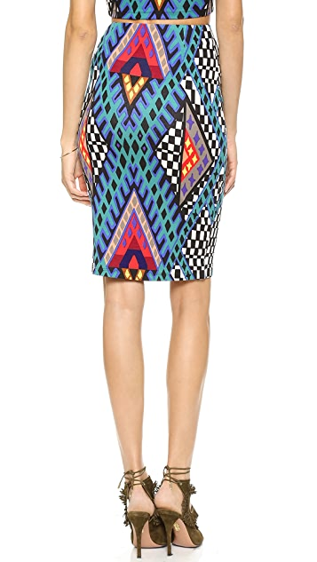 Mara Hoffman High Waisted Pencil Skirt