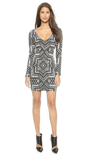 5e2e2d7d282d00 Mara Hoffman Deep V Side Cutout Dress