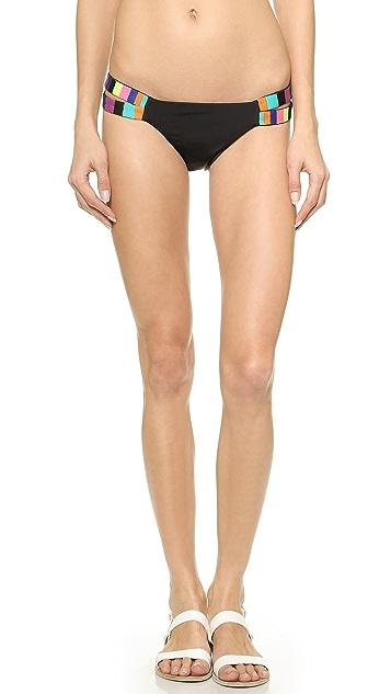 Mara Hoffman Embroidered Bikini Bottoms