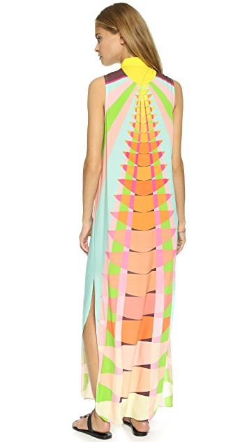 Mara Hoffman Shirt Maxi Dress