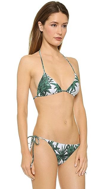 Mara Hoffman Harvest Triangle Bikini Top