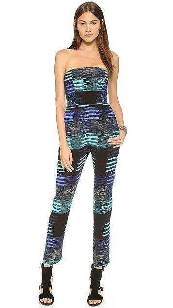 Mara Hoffman Strapless Jumpsuit