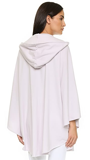 Mara Hoffman Embroidered Hooded Cape