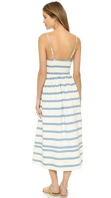 Mara Hoffman Bustier Maxi Dress