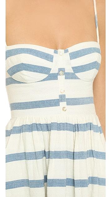315ad4f2f9c ... Mara Hoffman Bustier Maxi Dress
