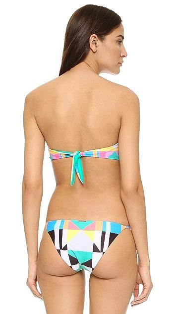 Mara Hoffman Strapless Underwire Bikini Top