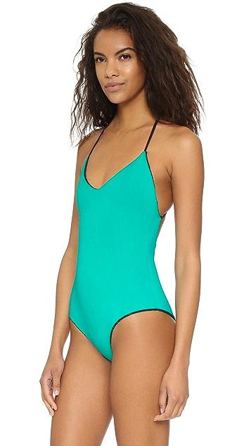 Mara Hoffman Lace Swimsuit