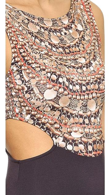 Mara Hoffman Scoop Back Midi Dress