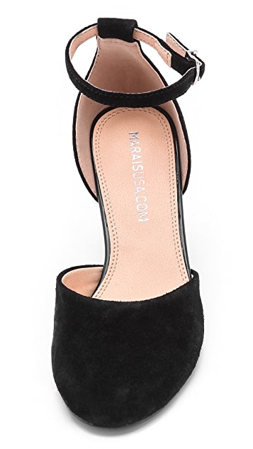 Marais USA Open d'Orsay Wedge Pumps