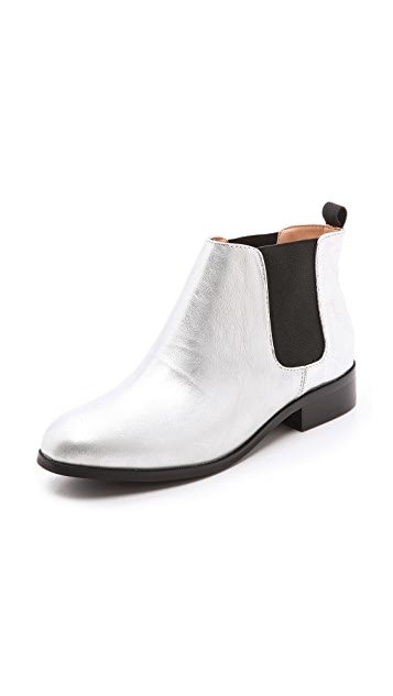 Marais USA Beatle Metallic Booties