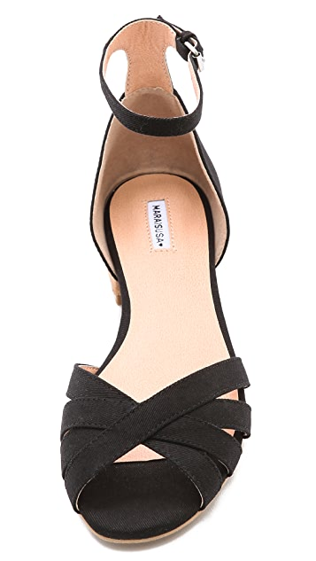 Marais USA Cork Heel Sandals