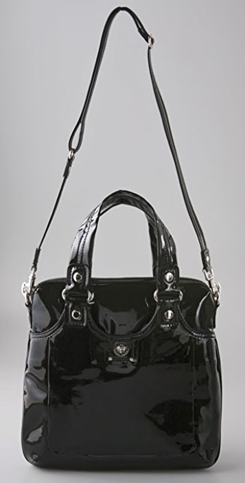 Marc by Marc Jacobs Totally Turnlock Patent Mag Bag