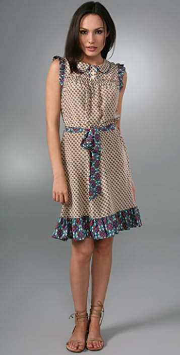 Jacobs Print Dress Flower Shopbop Marc By Cloud p5wPPS