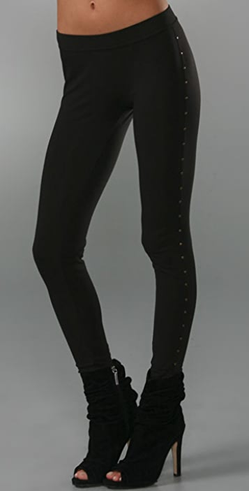 Marc by Marc Jacobs Leggings with Side Studs