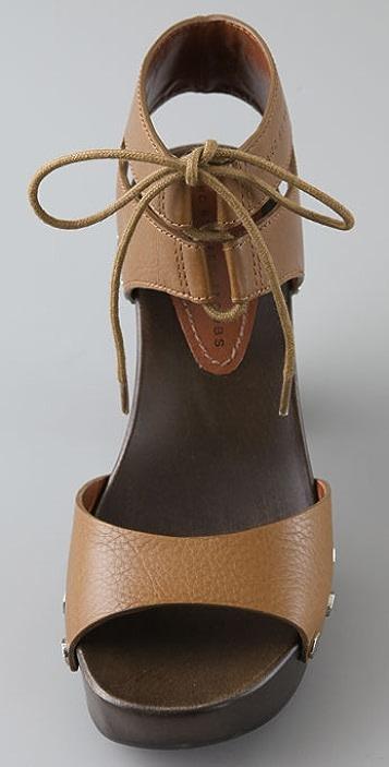 Marc by Marc Jacobs Ankle Tie Platform Sandals