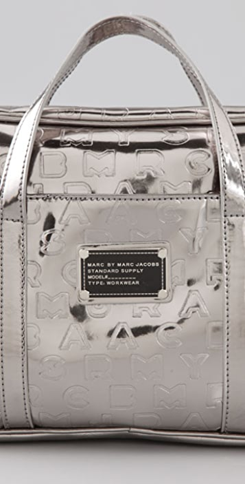 Marc by Marc Jacobs Logo Travel Mirror Vanity Case