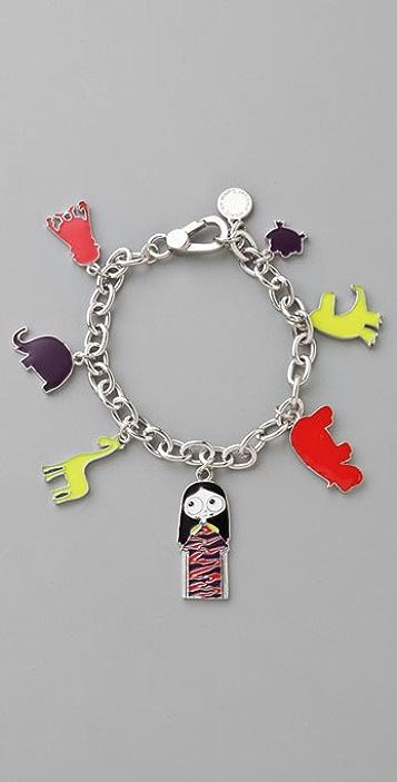 Marc by Marc Jacobs Miss Marc & Friends Charm Bracelet