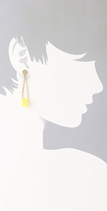 Marc by Marc Jacobs Loopy Bolt Earrings