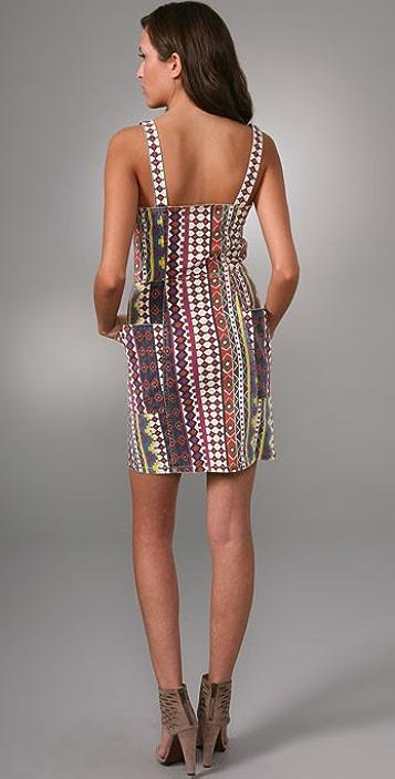 Marc by Marc Jacobs Diamond Denim Dress