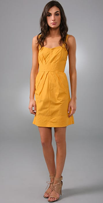 Marc by Marc Jacobs Lightweight Twill Dress