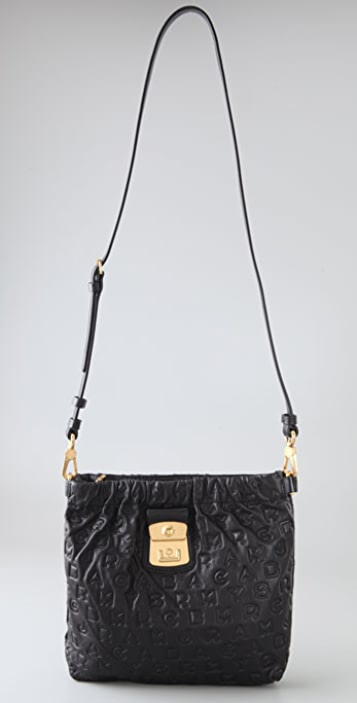 Marc by Marc Jacobs Dreamy Logo Sia Cross Body Bag