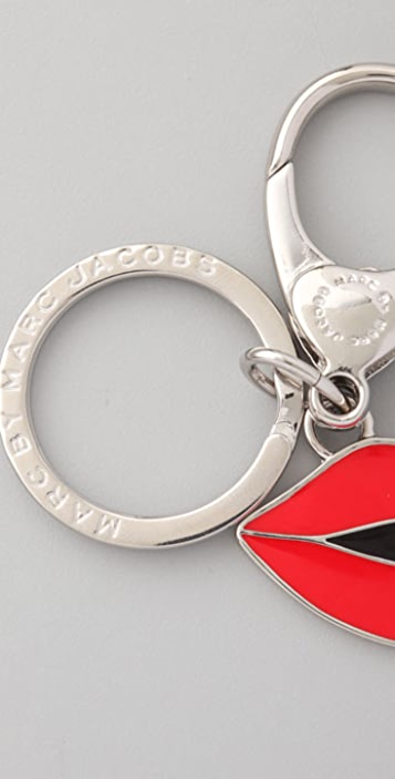 Marc by Marc Jacobs Sealed With a Kiss Keychain
