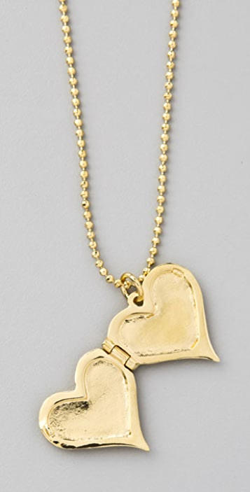 Marc by Marc Jacobs House of Cards Fantastical Tale Heart Locket Necklace