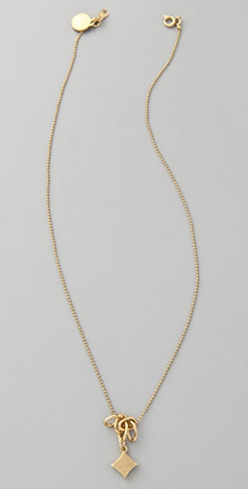 Marc by Marc Jacobs House of Cards Bubbly Diamond Pendant Necklace