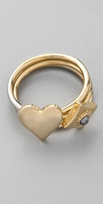 Marc by Marc Jacobs House of Cards Court Harem Ring