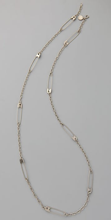 Marc by Marc Jacobs House of Cards Safety Link Necklace