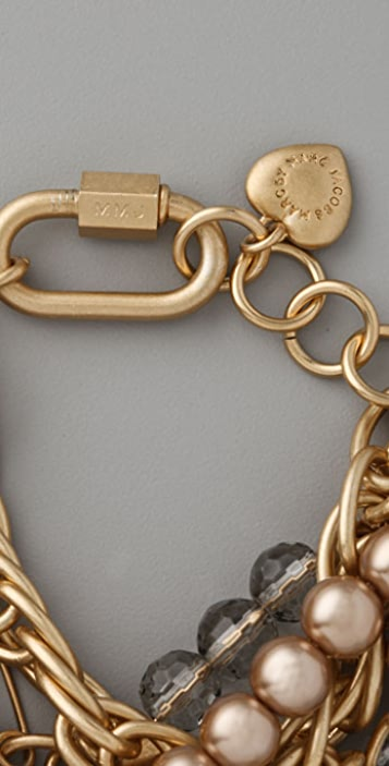Marc by Marc Jacobs Party Girl Lila Chain Bracelet