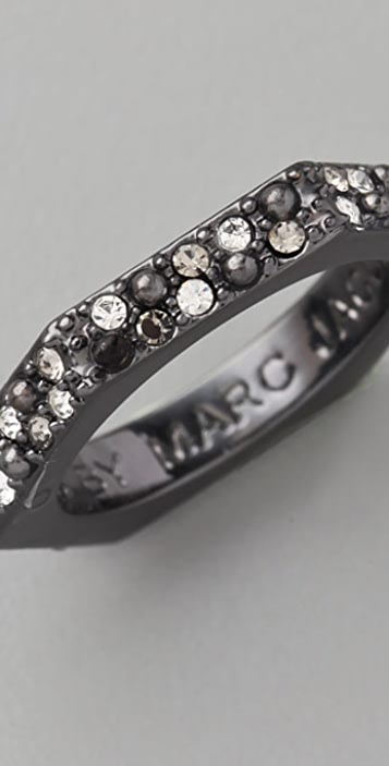 Marc by Marc Jacobs Party Girl Pave Bolt Ring