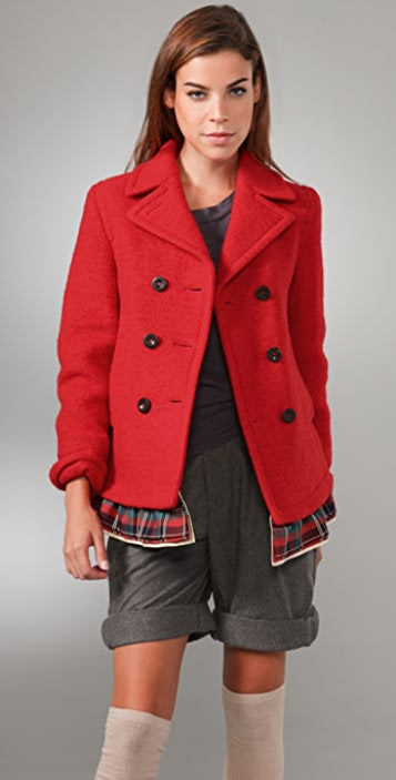Marc by Marc Jacobs Marlene Wool Jacket