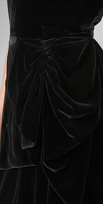 Marc by Marc Jacobs Solid Velvet Dress