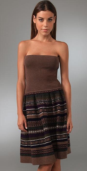 Marc by Marc Jacobs Buzzy Fair Isle Dress / Skirt