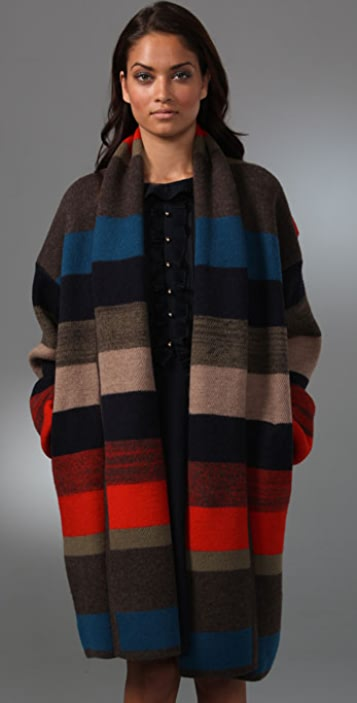 Marc by Marc Jacobs Orion Blanket Sweater