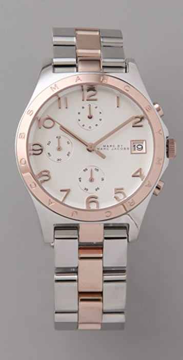 Marc by Marc Jacobs Henry Chronograph Watch