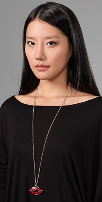 Marc by Marc Jacobs Mademoiselle Danger Watch Pendant Necklace