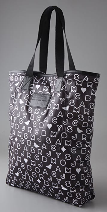 Marc by Marc Jacobs Love Dove Print Packable Shopper