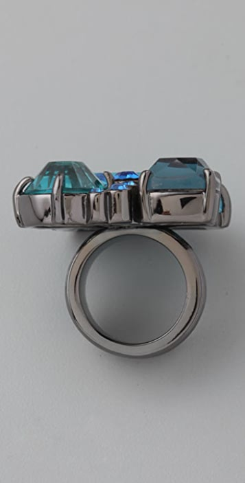 Marc by Marc Jacobs Stone Cluster Ring