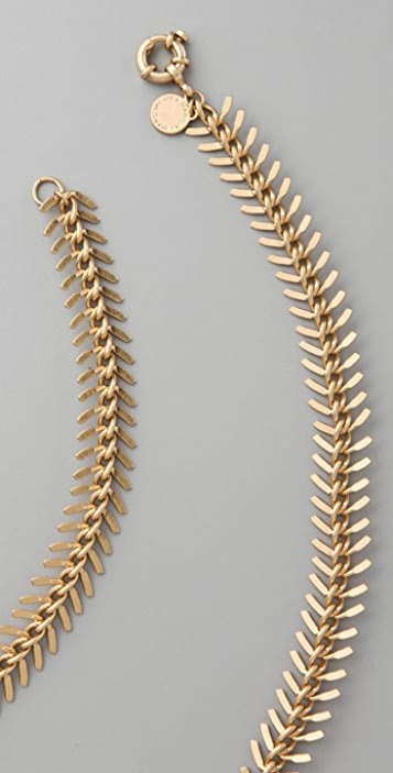 Marc by Marc Jacobs Organic Bird Wing Chain Necklace