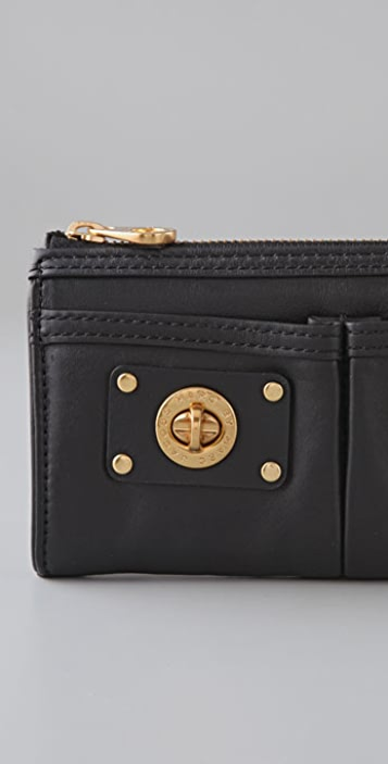 Marc by Marc Jacobs Totally Turnlock Zip Clutch